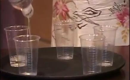 Свадебный конкурс «Рюмка водки»