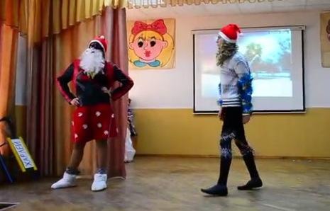 Сценарии пародий на новый год